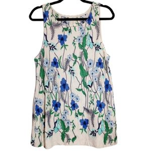 Anthropologie Meadow Rue Embroidered Floral Top